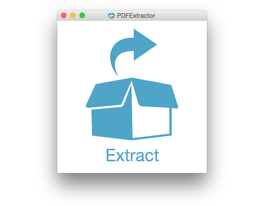 PDFExtractor Screen shot